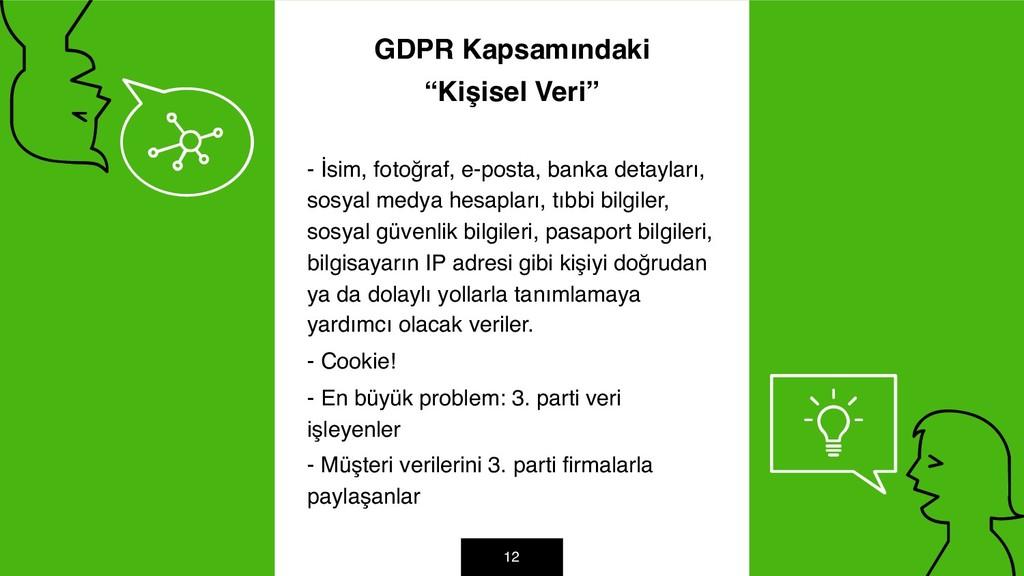 """GDPR Kapsamındaki """"Kişisel Veri"""" - İsim, fotoğr..."""