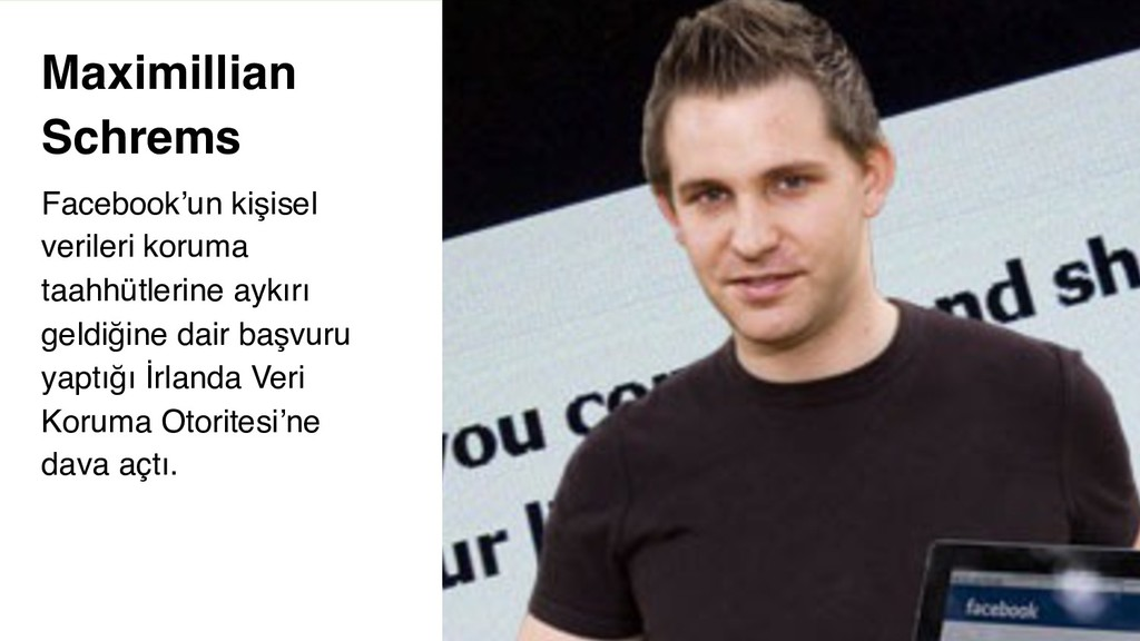 5 Maximillian Schrems Facebook'un kişisel veril...