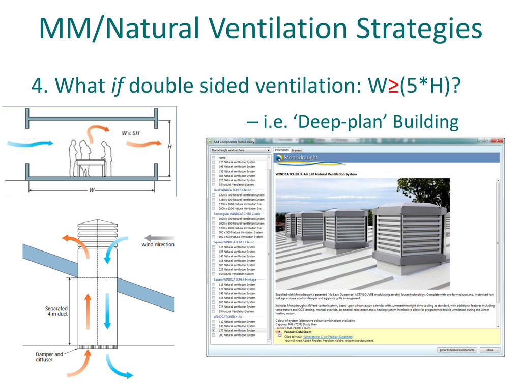 MM/Natural Ventilation Strategies 4. What if do...
