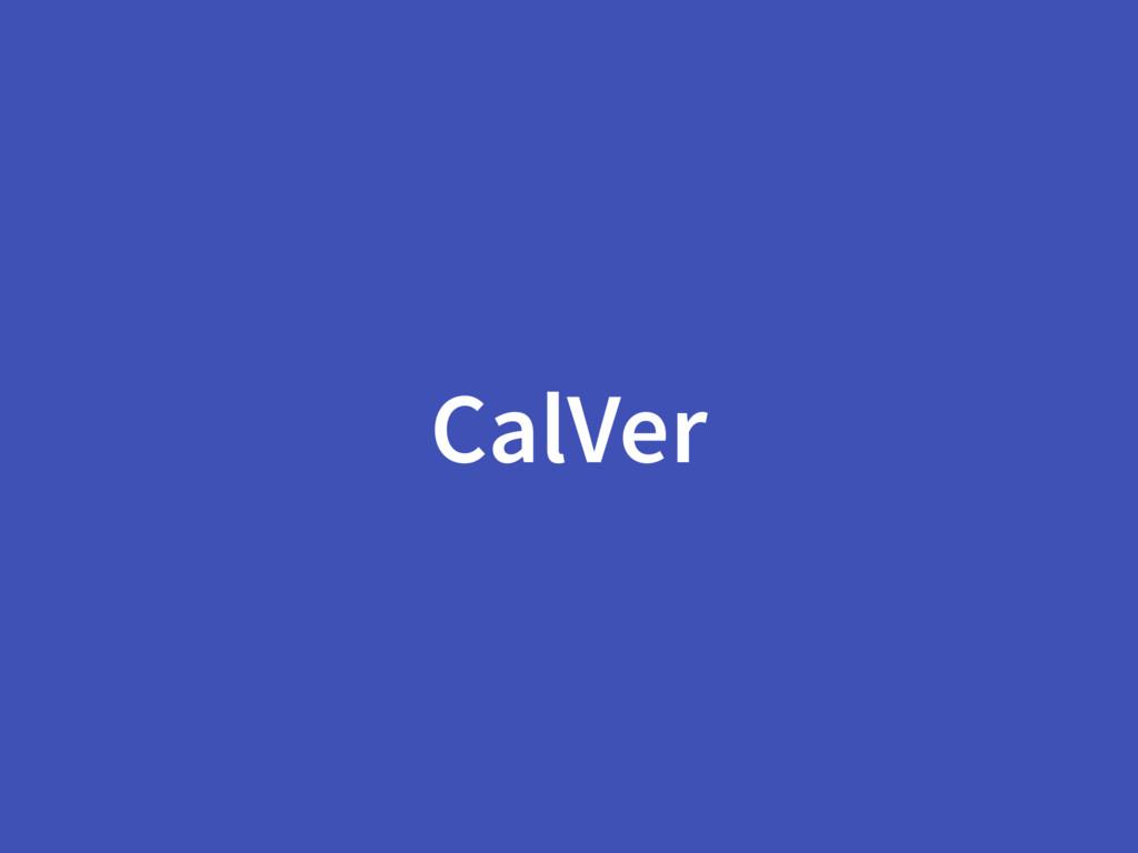 CalVer
