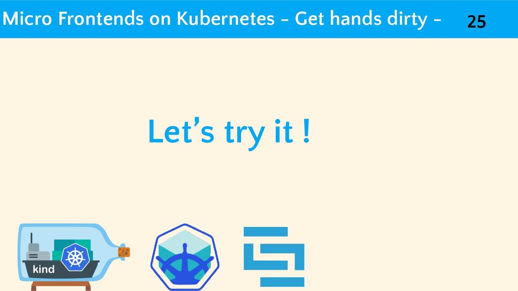 Micro Frontends on Kubernetes - Get hands dirty...