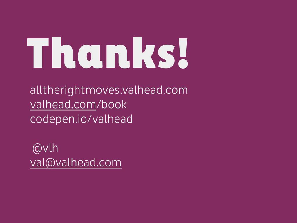alltherightmoves.valhead.com valhead.com/book c...