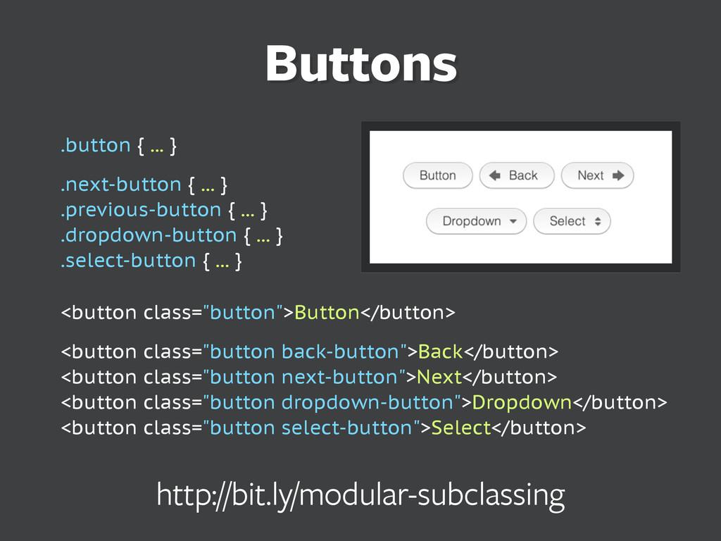 .button { ... } .next-button { ... } .previous-...