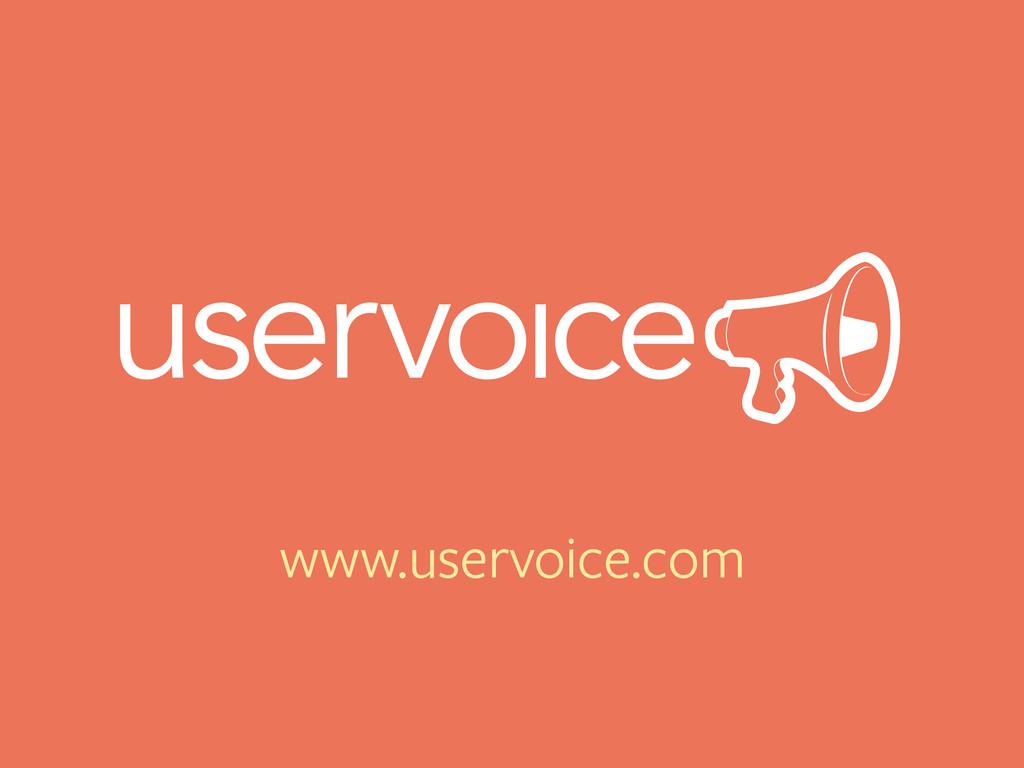 www.uservoice.com