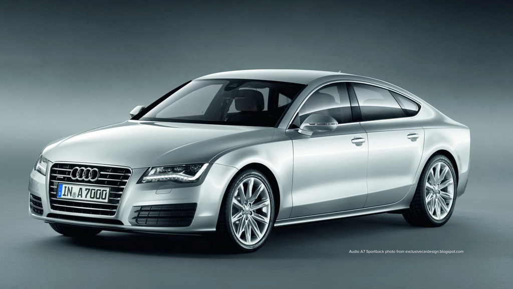 Audio A7 Sportback photo from exclusivecardesig...