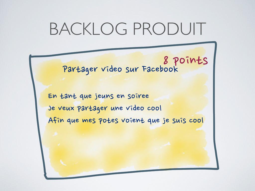 BACKLOG PRODUIT 8