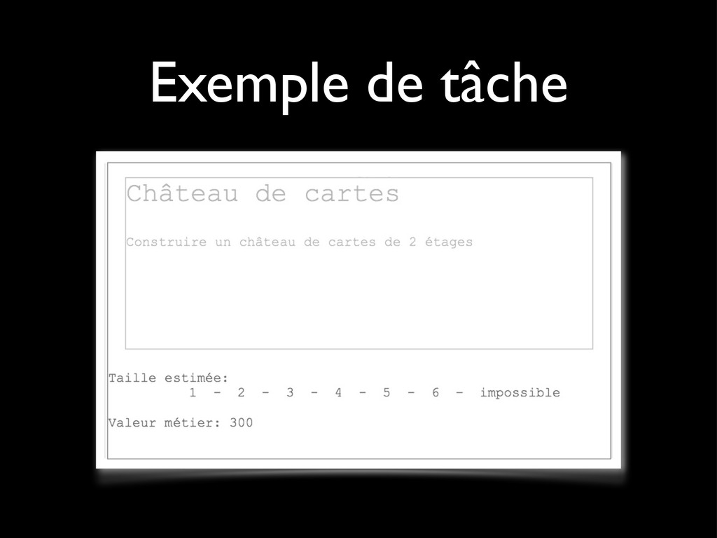 Exemple de tâche