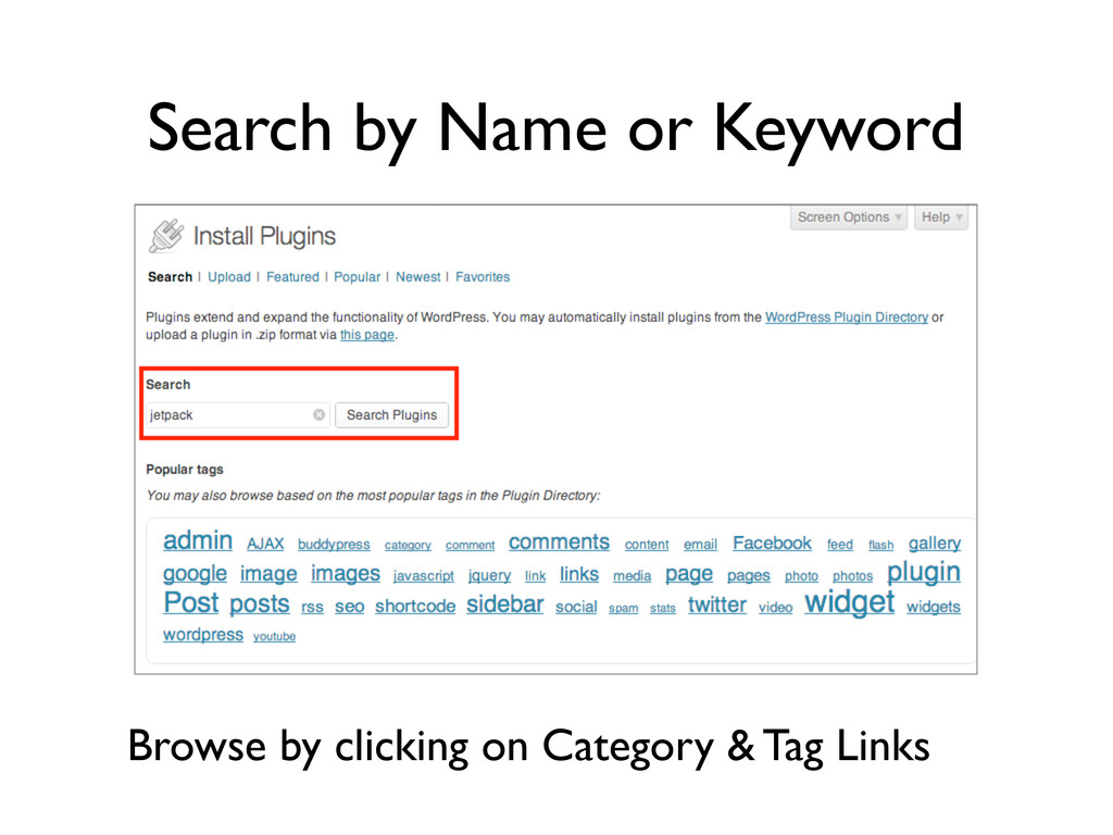 Search by Name or Keyword Browse by clicking on...