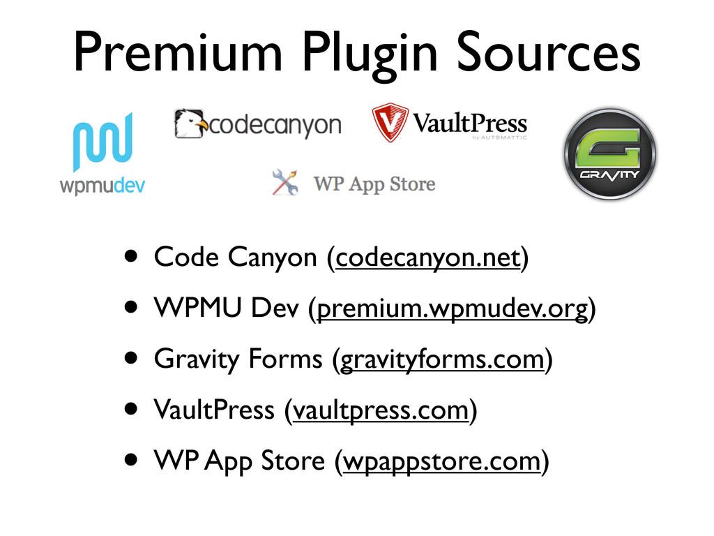 Premium Plugin Sources • Code Canyon (codecanyo...