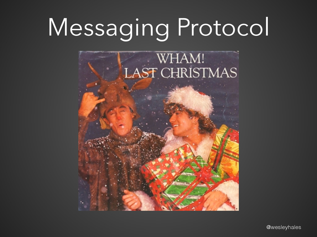 @wesleyhales Messaging Protocol