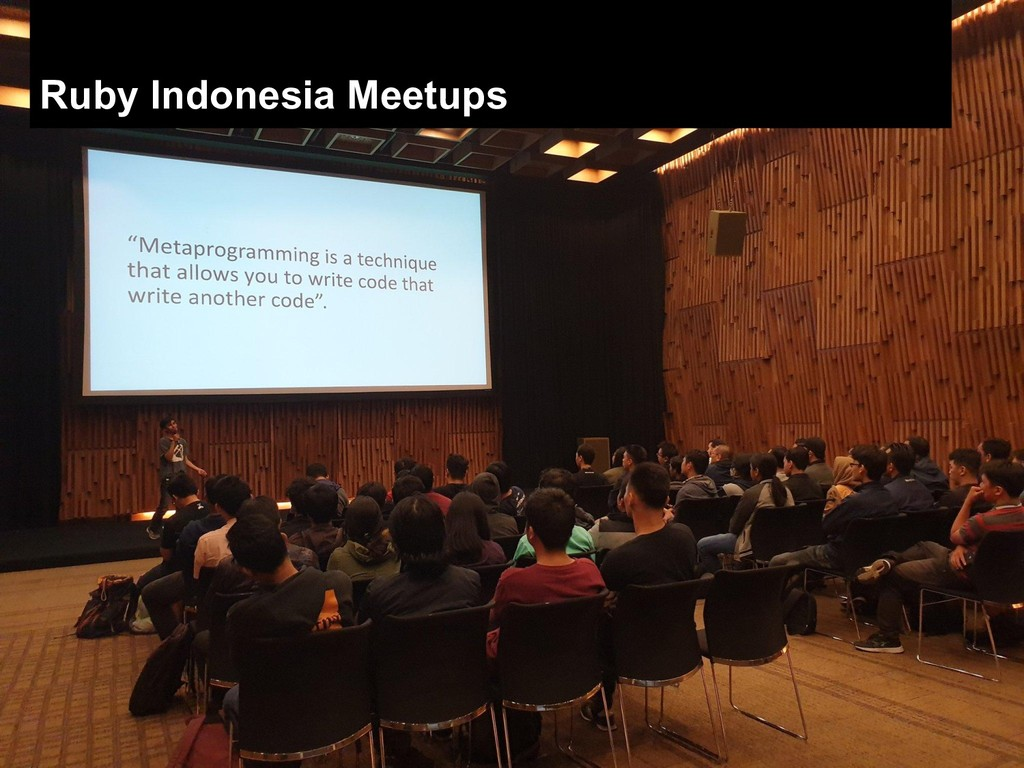 Ruby Indonesia Meetups