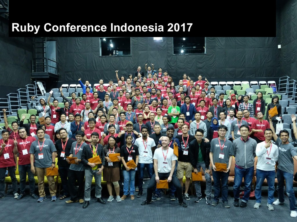 Ruby Conference Indonesia 2017