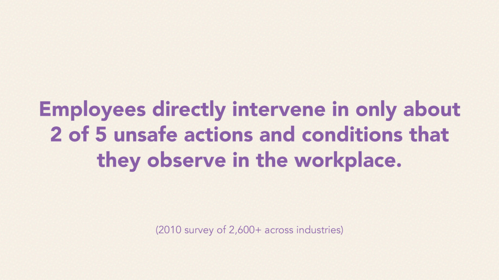 (2010 survey of 2,600+ across industries) Emplo...