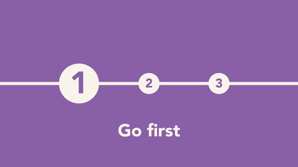 1 2 3 1 Go first