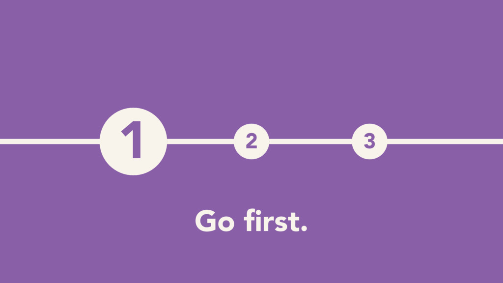 1 2 3 1 Go first.