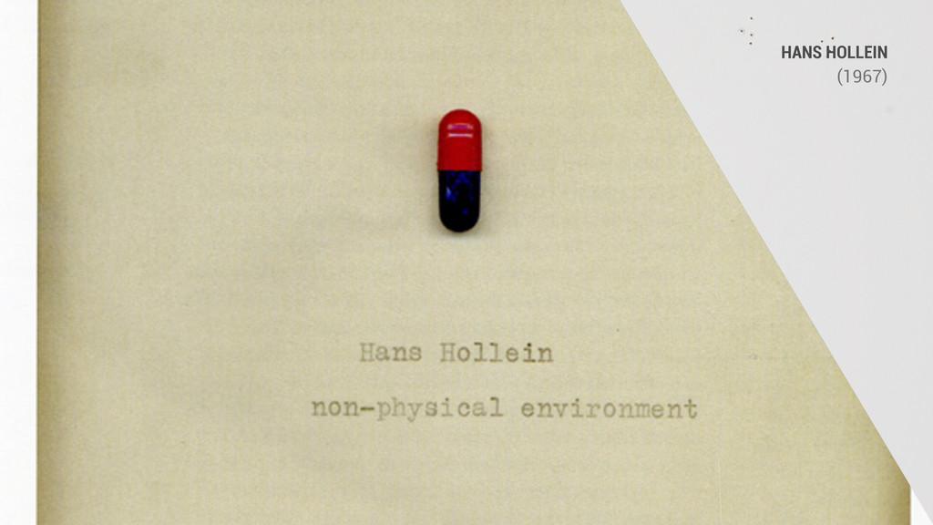 HANS HOLLEIN (1967)