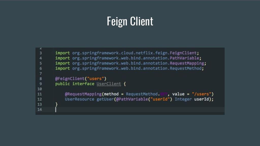 Feign Client