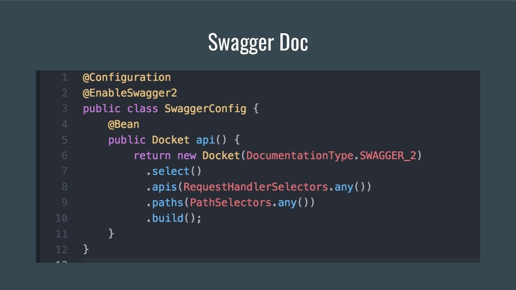 Swagger Doc