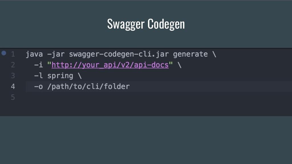Swagger Codegen