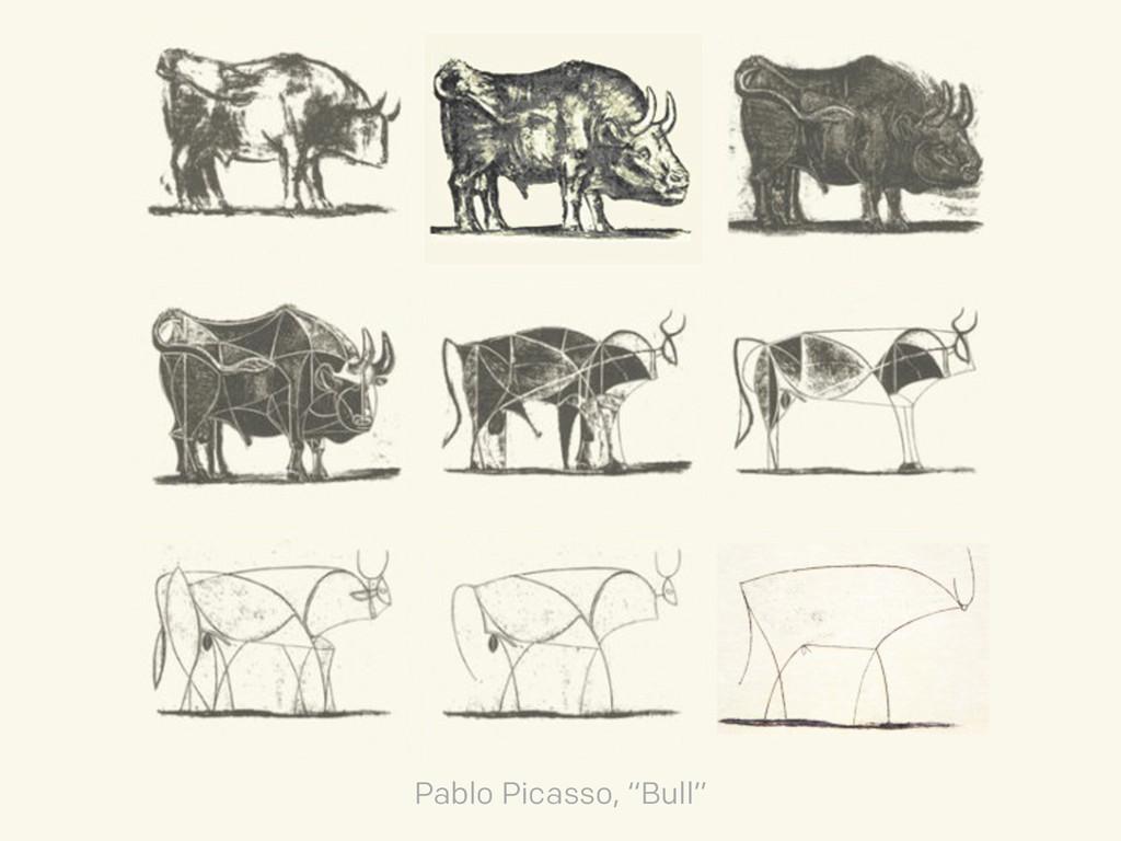 """Pablo Picasso, """"Bull"""""""
