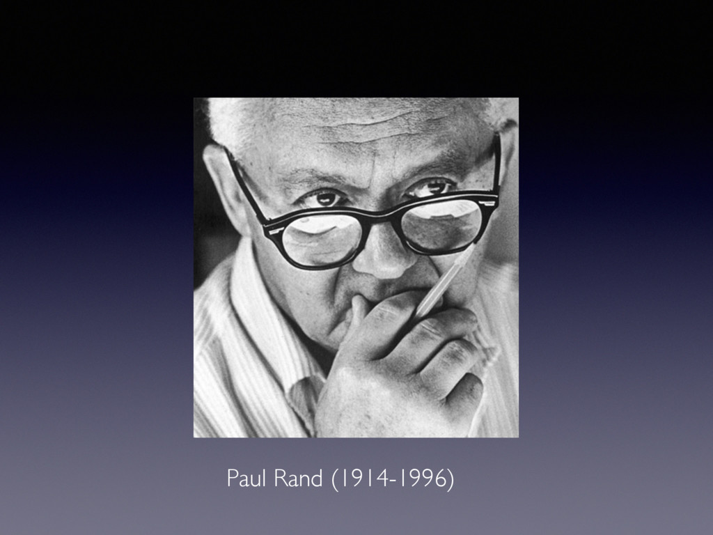 Paul Rand (1914-1996)