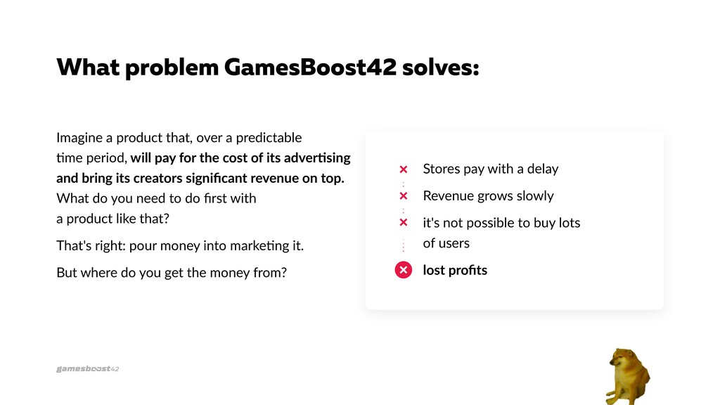 What problem GamesBoost42 solves: Imagine a pro...