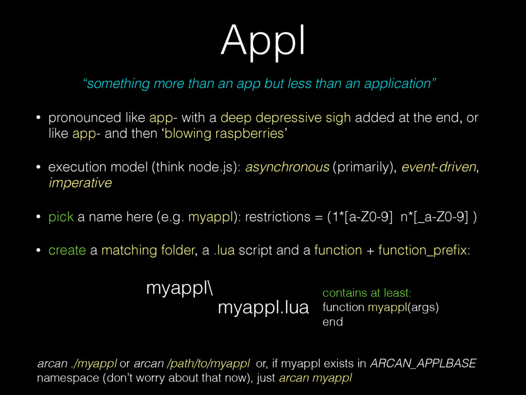 """Appl """"something more than an app but less than ..."""