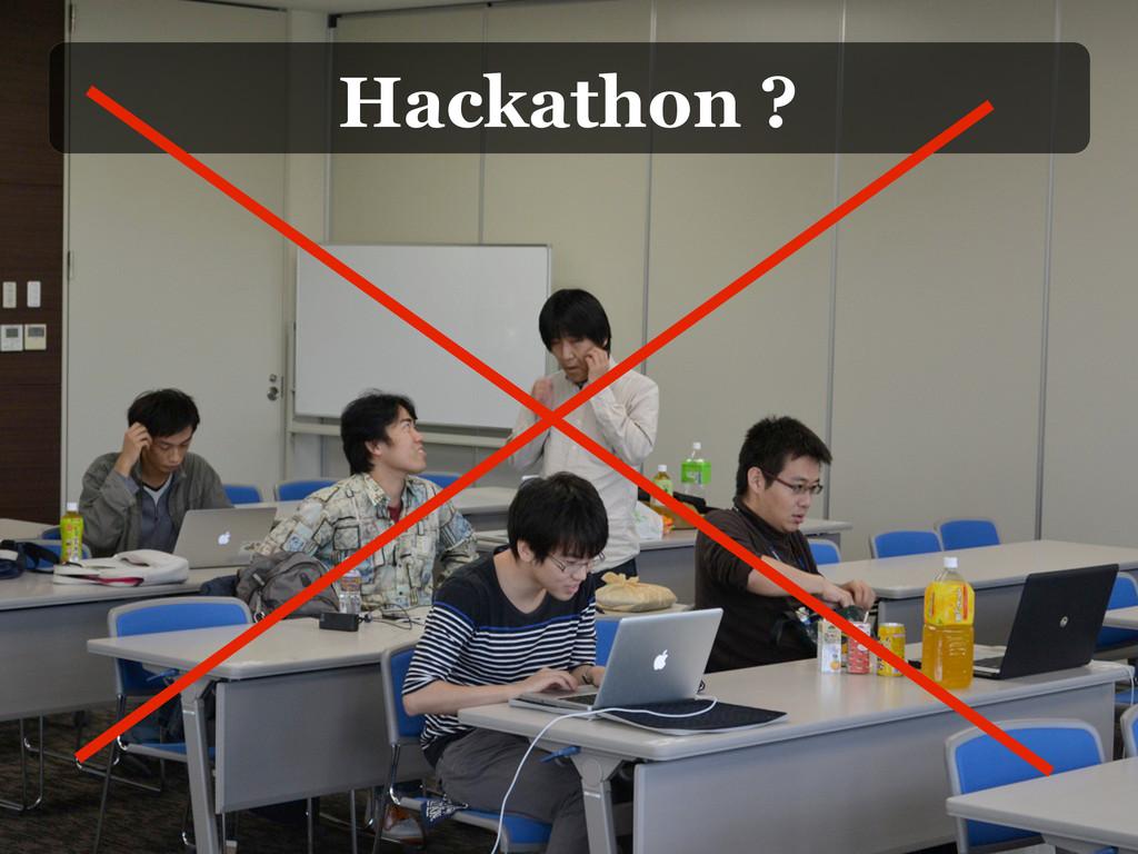 Hackathon ?