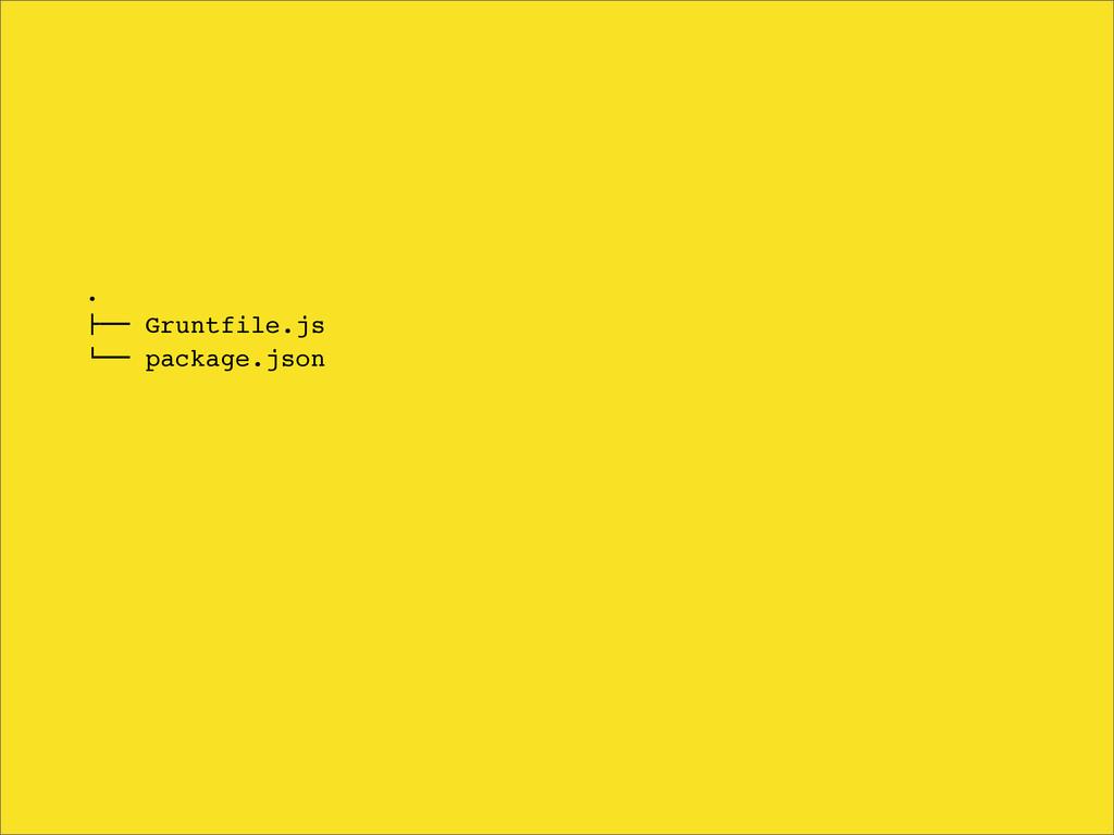 ". !"""" Gruntfile.js #"""" package.json"