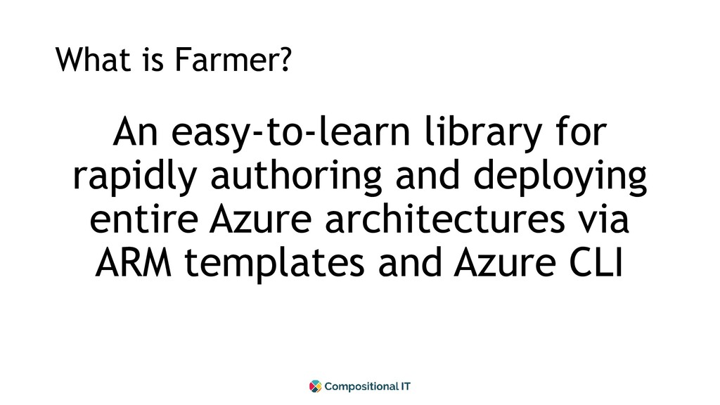 What is Farmer? An easy-to-learn library for ra...