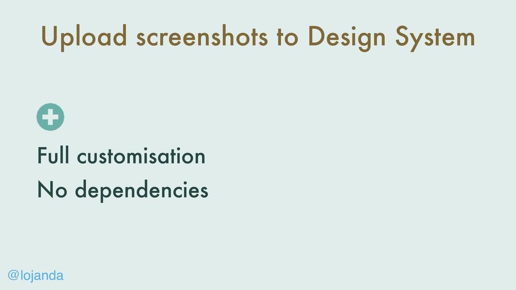 @lojanda Upload screenshots to Design System Fu...