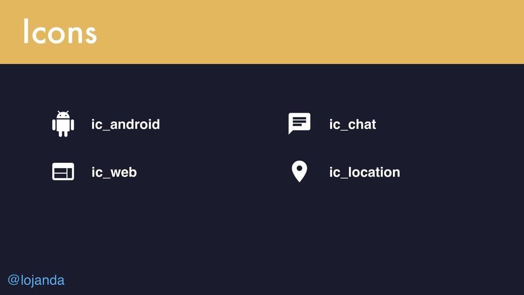 @lojanda Icons ic_android ic_web ic_chat ic_loc...