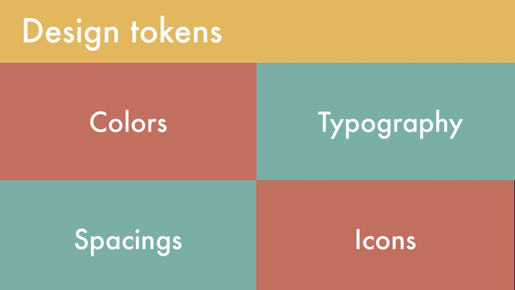 @lojanda Design tokens Colors Typography Spacin...