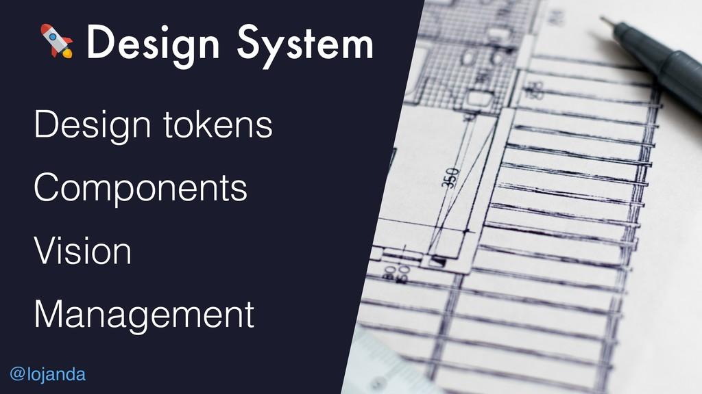 @lojanda Design System Design tokens Components...