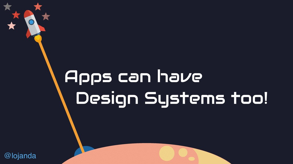 @lojanda Apps can have Design Systems too!
