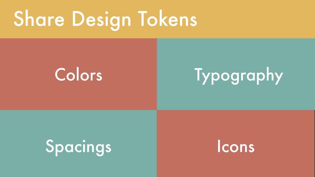 @lojanda Share Design Tokens Colors Typography ...