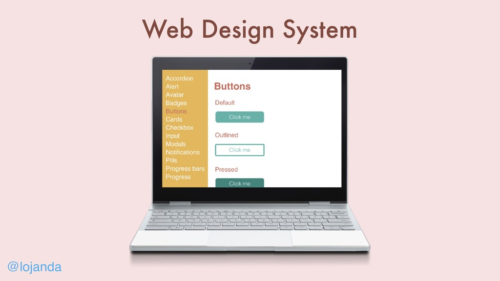 @lojanda Web Design System