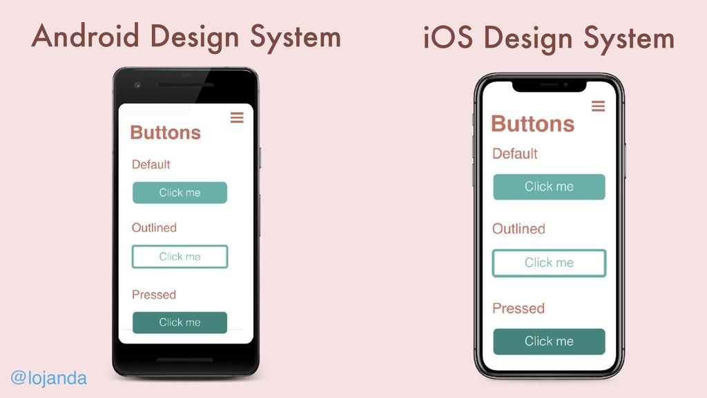 @lojanda iOS Design System Android Design System