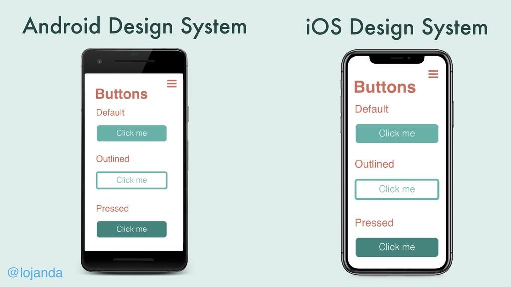 @lojanda Android Design System iOS Design System