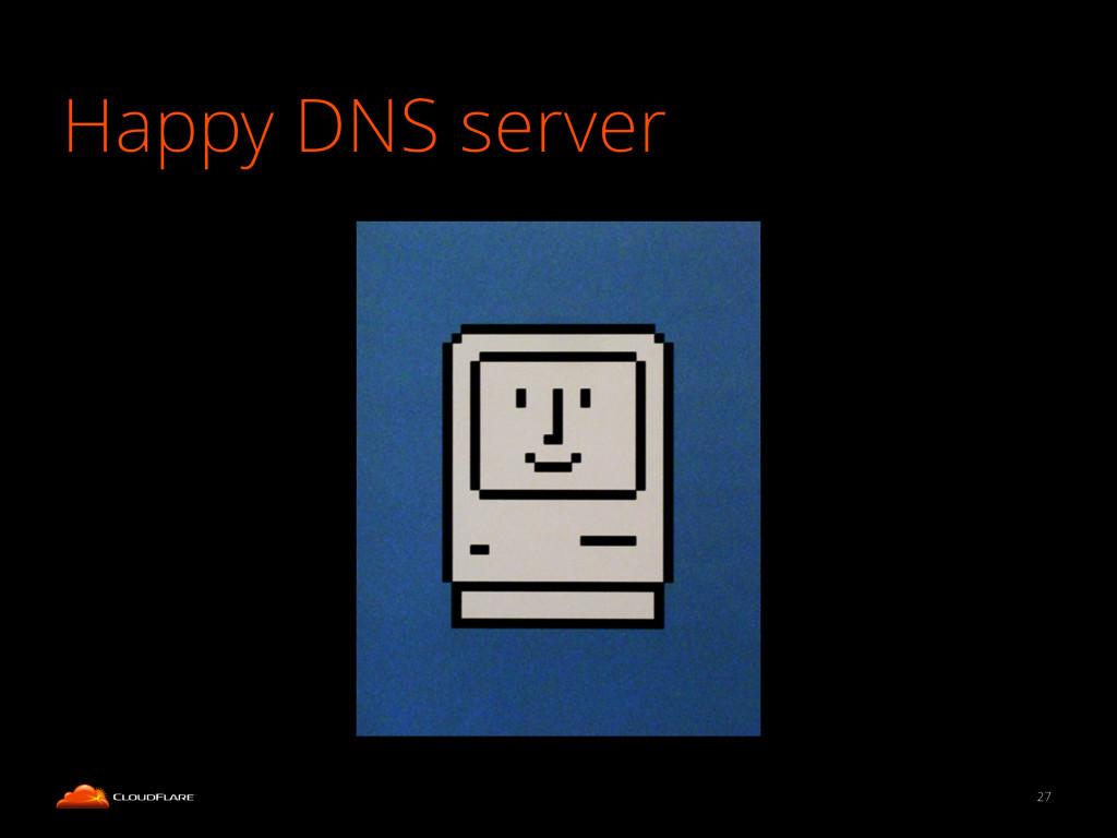 27 Happy DNS server