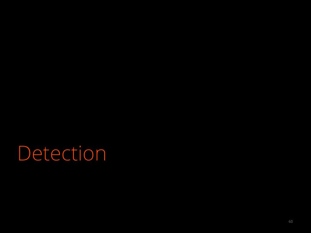 Detection 60