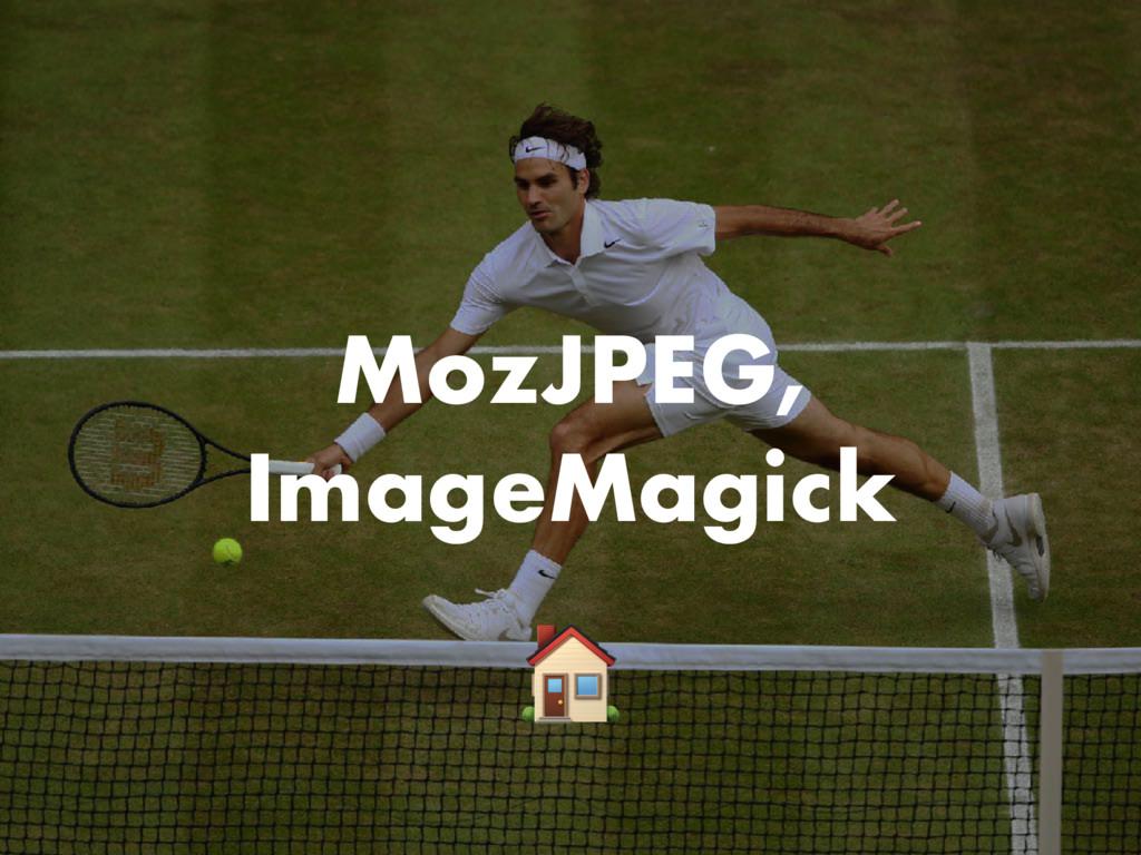 MozJPEG, ImageMagick