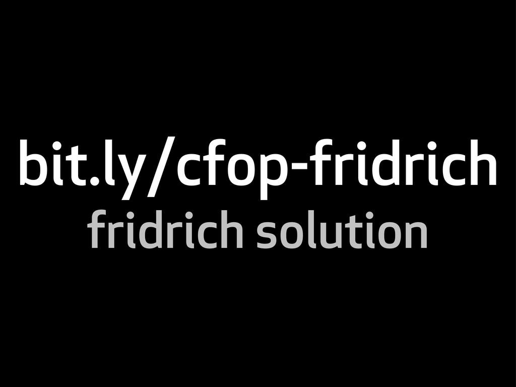 bit.ly/cfop-fridrich fridrich solution