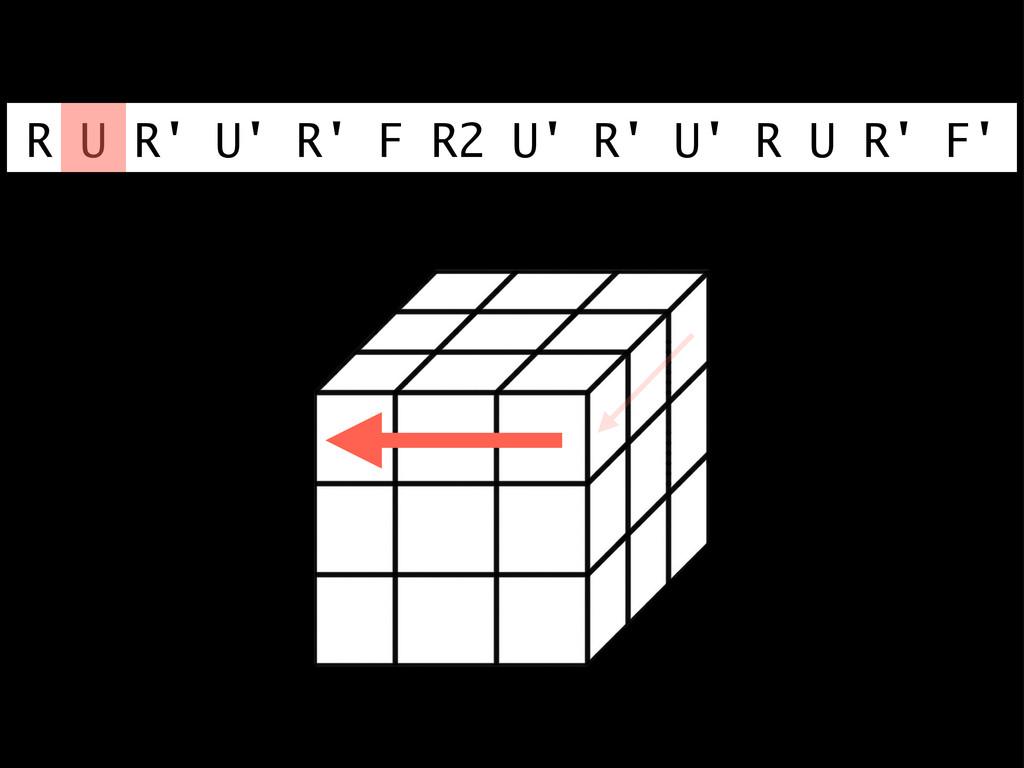 R U R' U' R' F R2 U' R' U' R U R' F'