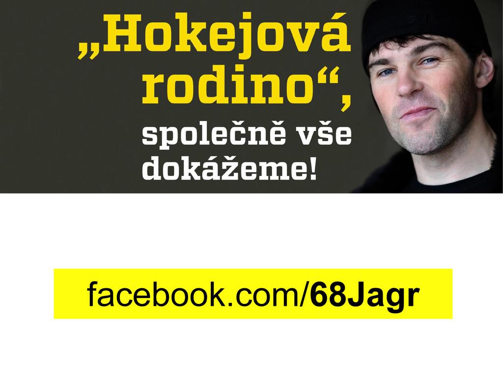 facebook.com/68Jagr