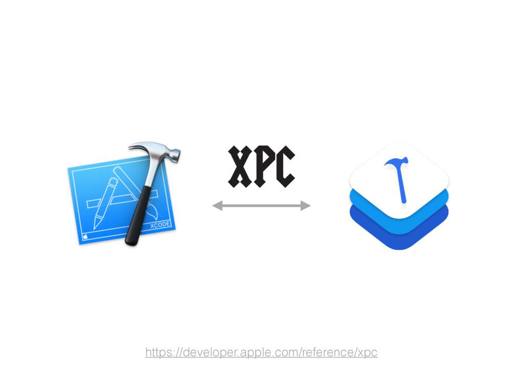 https://developer.apple.com/reference/xpc