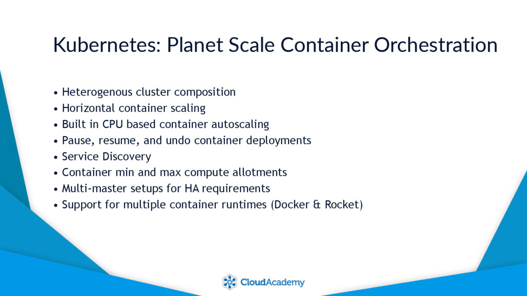 Kubernetes: Planet Scale Container Orchestratio...