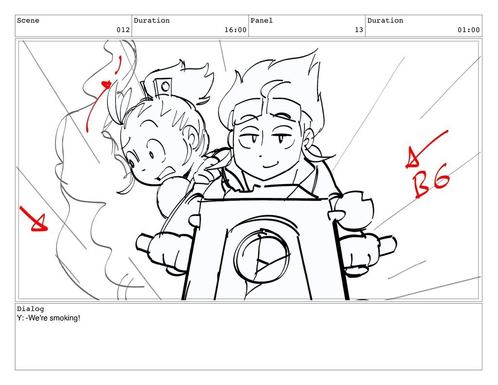 Scene 012 Duration 16:00 Panel 13 Duration 01:0...