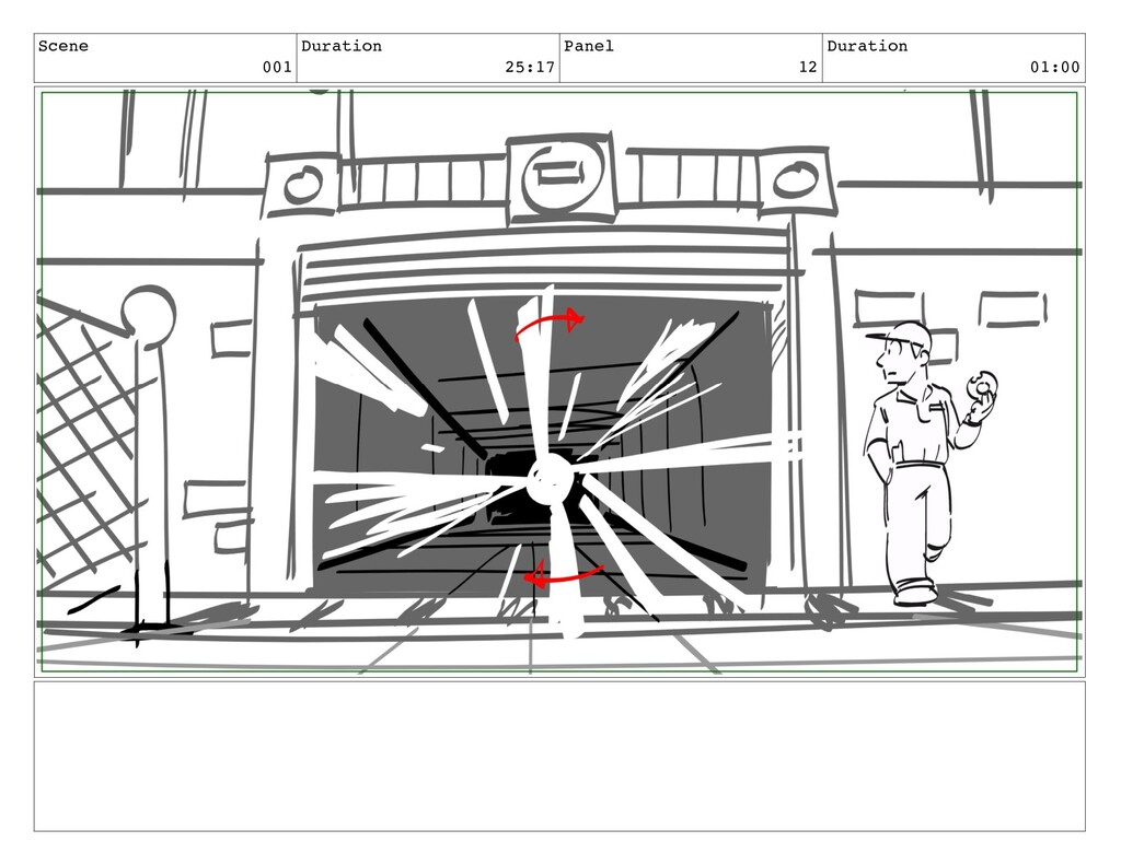 Scene 001 Duration 25:17 Panel 12 Duration 01:00