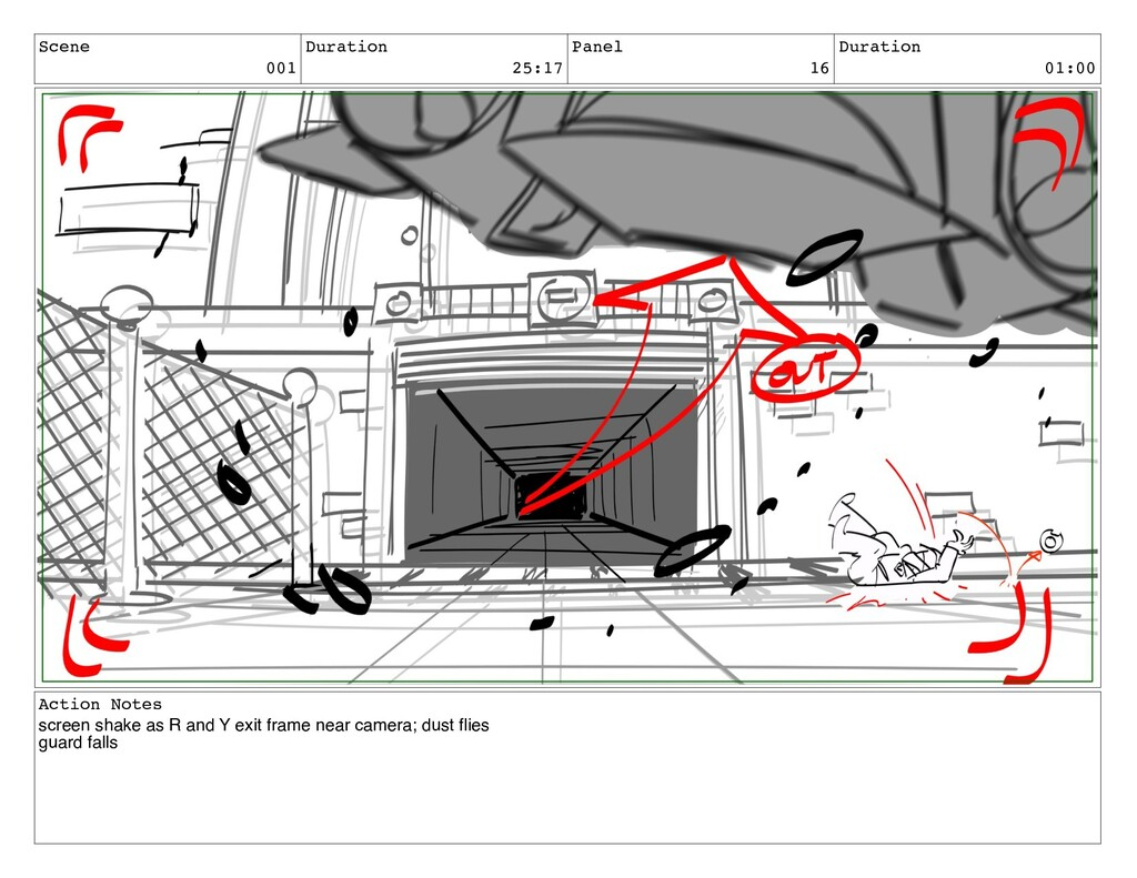 Scene 001 Duration 25:17 Panel 16 Duration 01:0...